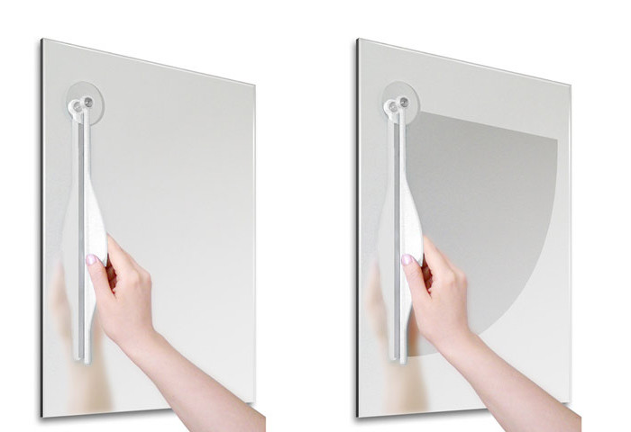 Bathroom Mirror Wiper | Stuff You Should Have