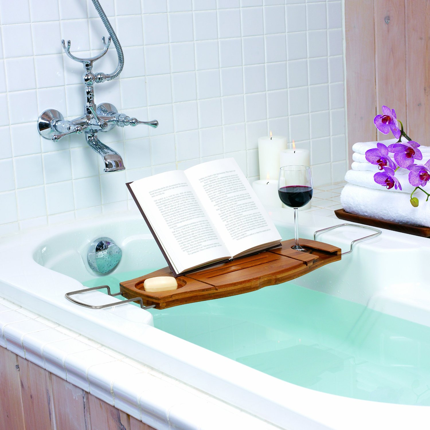 bathtub caddy stuff you should have