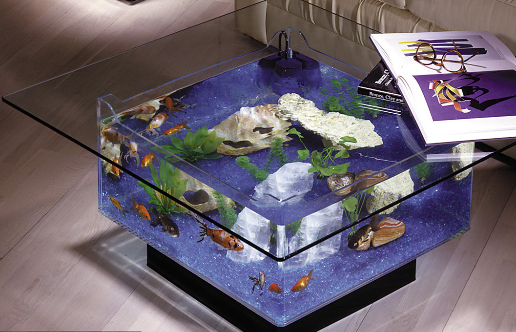 Pin Table Aquarium Coffee Fish Tank On Pinterest