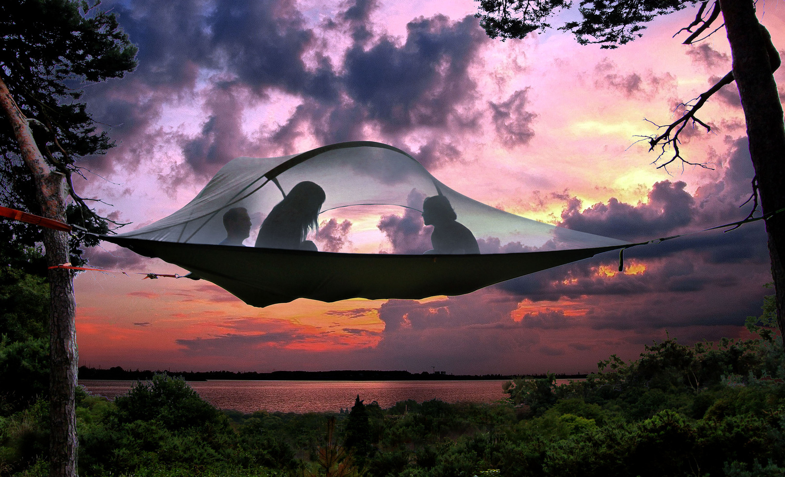 Have a unique c&ing experience with the Tentsile Tree Tent. These hanging tree houses were made so you can experience the great outdoors in style ... & Hanging Tree Tent | Stuff You Should Have