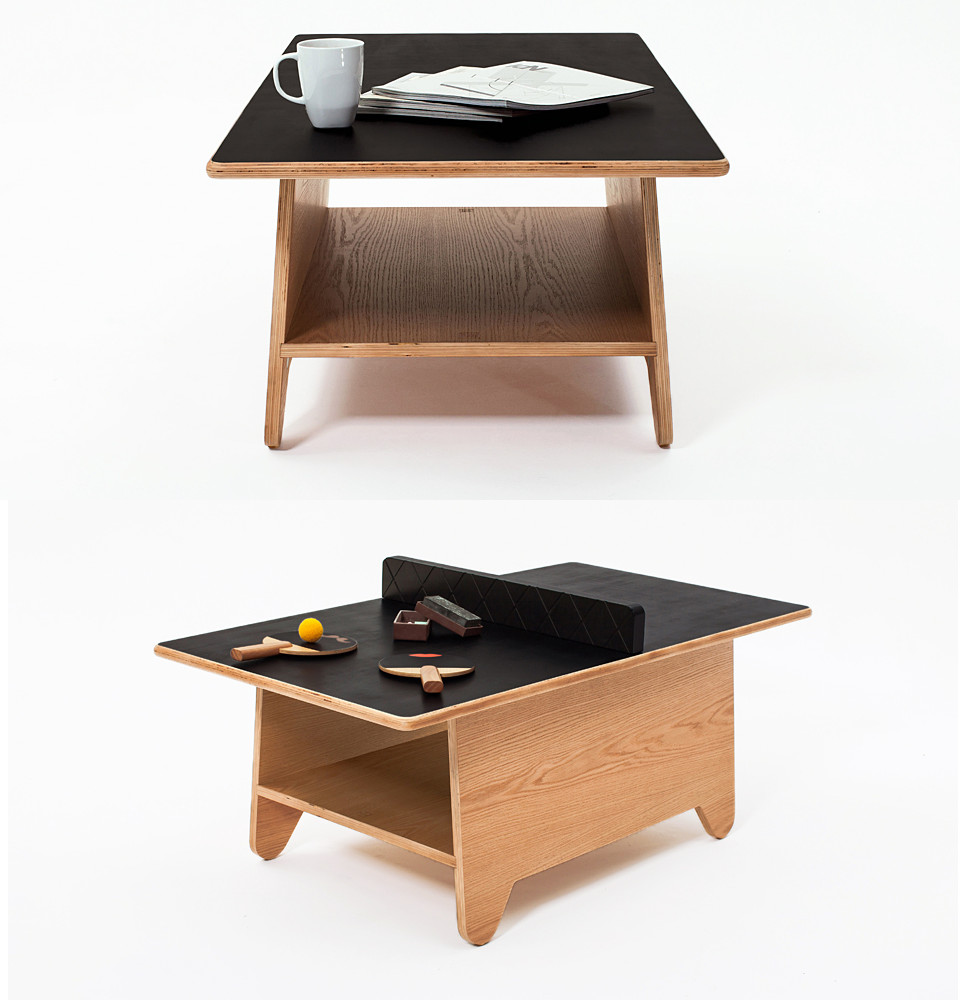 Mini Ping Pong Coffee Table Stuff You Should Have