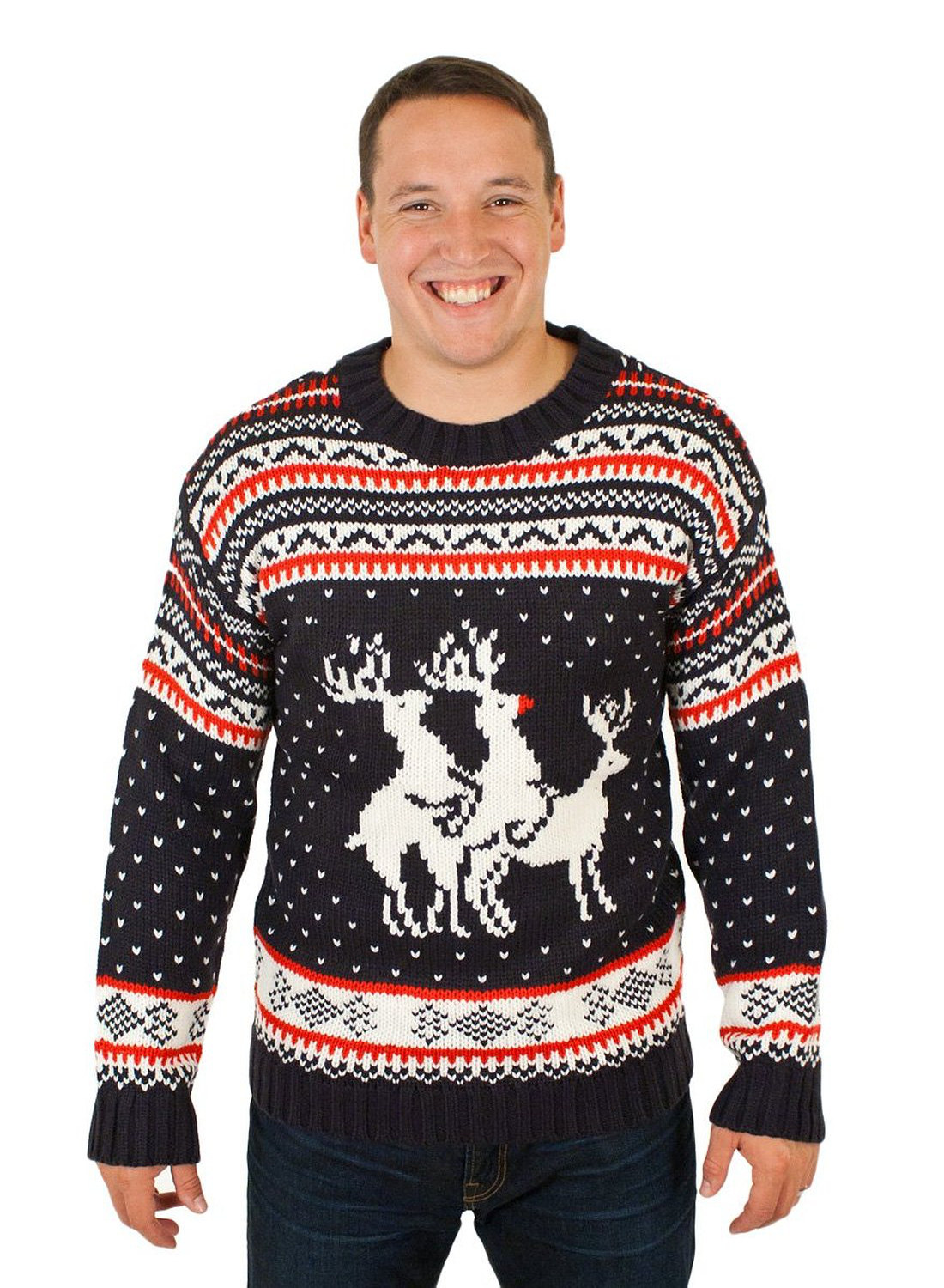 Ugly Christmas Sweater With Humping Reindeers | Stuff You Should Have