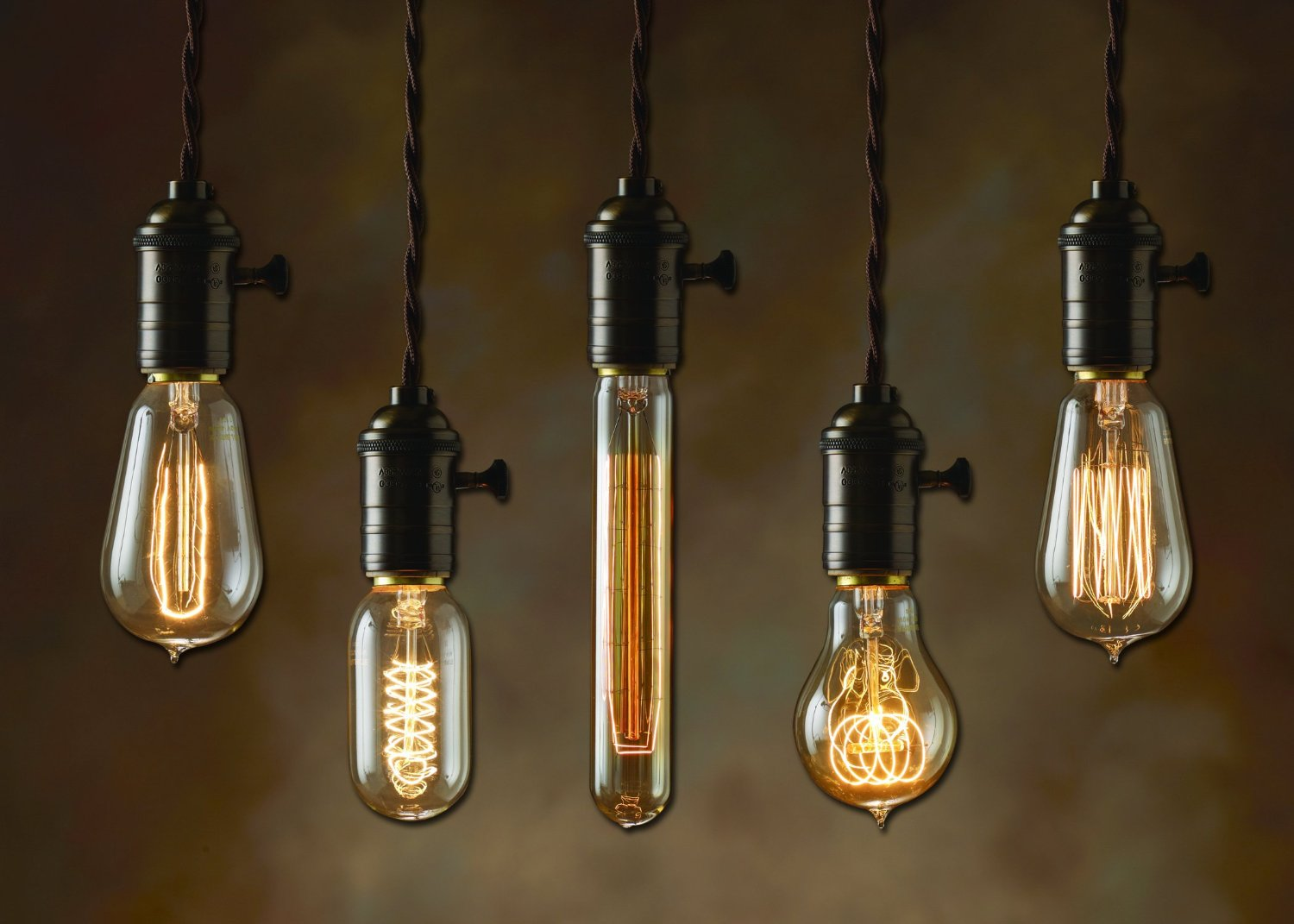 Vintage light bulbs stuff you should have for Suspension ampoules multiples