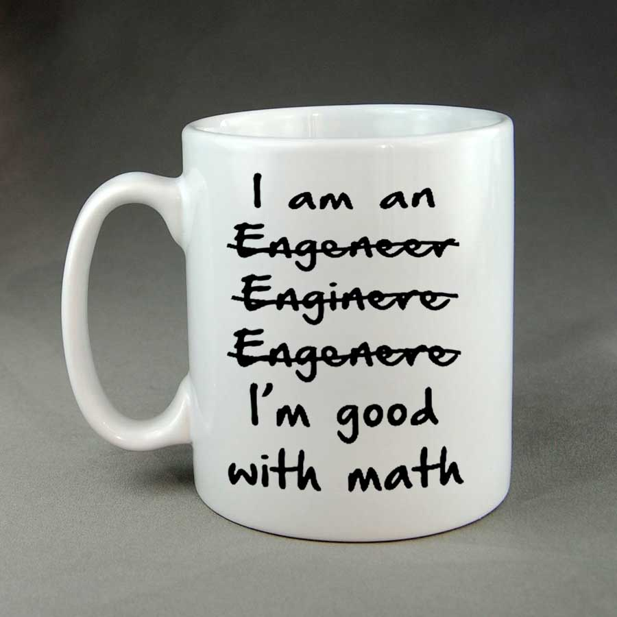 Men/'s I/'m An Engineer Good At Maths Vest Science Engineering Funny Gift