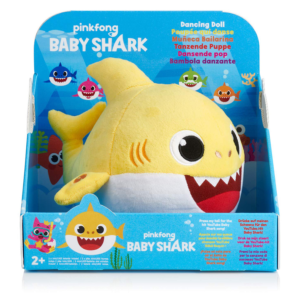 Official Baby Shark Dancing Stuffed Toy