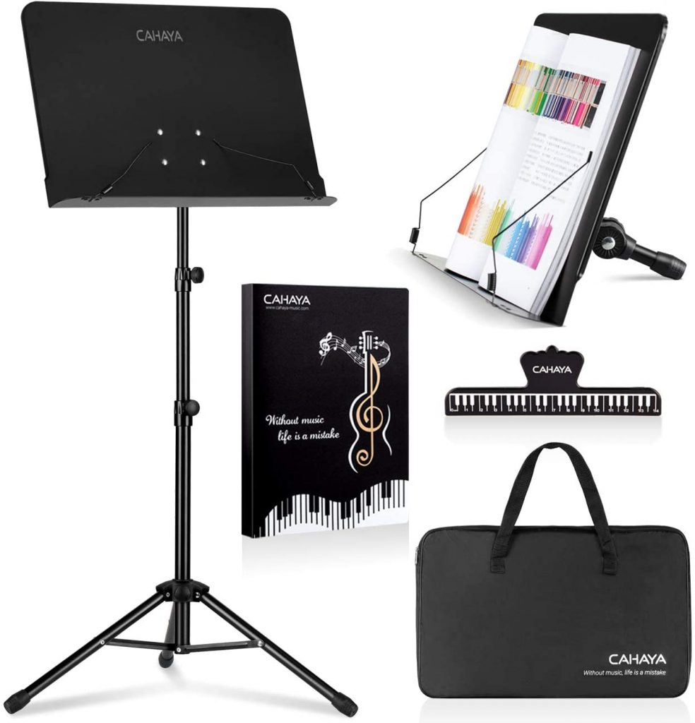 Portable music stand set